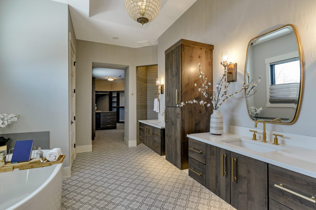 Trend: Brass, Bronze and Copper | Builder: JMS Homes