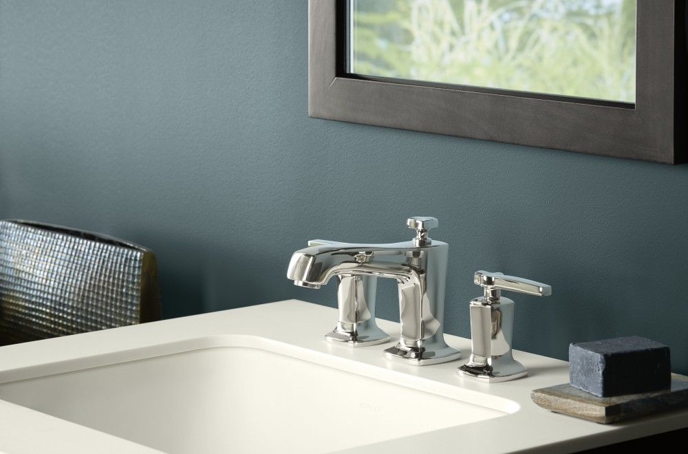 Design Trends: Contemporary Finishes | Image: Kohler - Polished Nickel