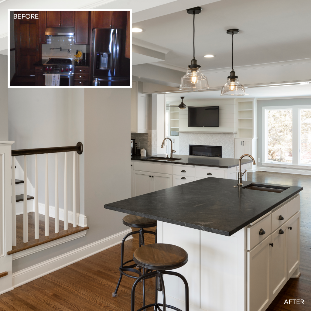 Lecy Bros. Remodel - Remodelers Showcase Before and After
